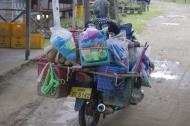 Chargement habituel de moto