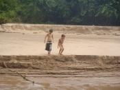 Plage des cascades de Don Khon, baignade dangereuse!
