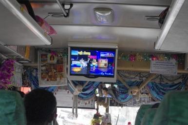 Bus local trajet Phnon Peng SIam Reap