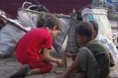 Gamins des rues de Siam Reap