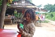 Petite fille du village