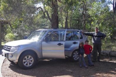 Notre voiture... prête pour le départ!