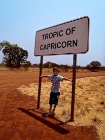 passage du tropique du capricorne