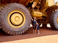 Newman et ses camions gigantesques