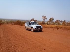 route dans le Karijini NP
