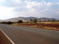 Route vers le Karjini NP