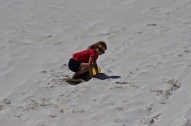 Lancelin, sandboarding