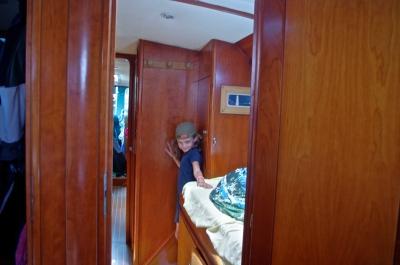 Intérieur du bateau