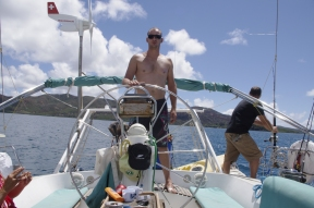 En route pour l'îlot Mato