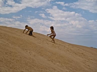 Mesa Camp beach