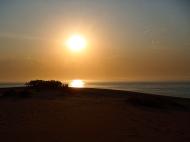 Mesa Camp, coucher de soleil