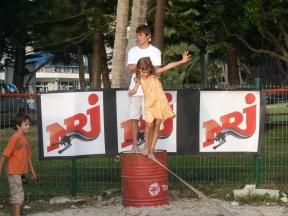 Kite surf entrainement