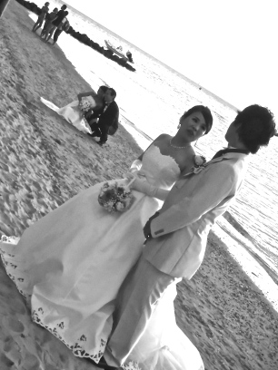 Les mariés du Méridien, Nouméa