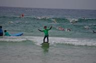 1ère leçon de surf et life savers en formation