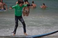 1ère leçon de surf