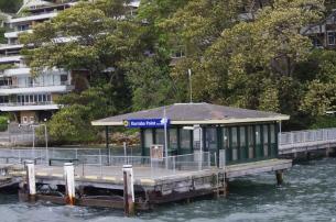 Station de bus, non de ferry