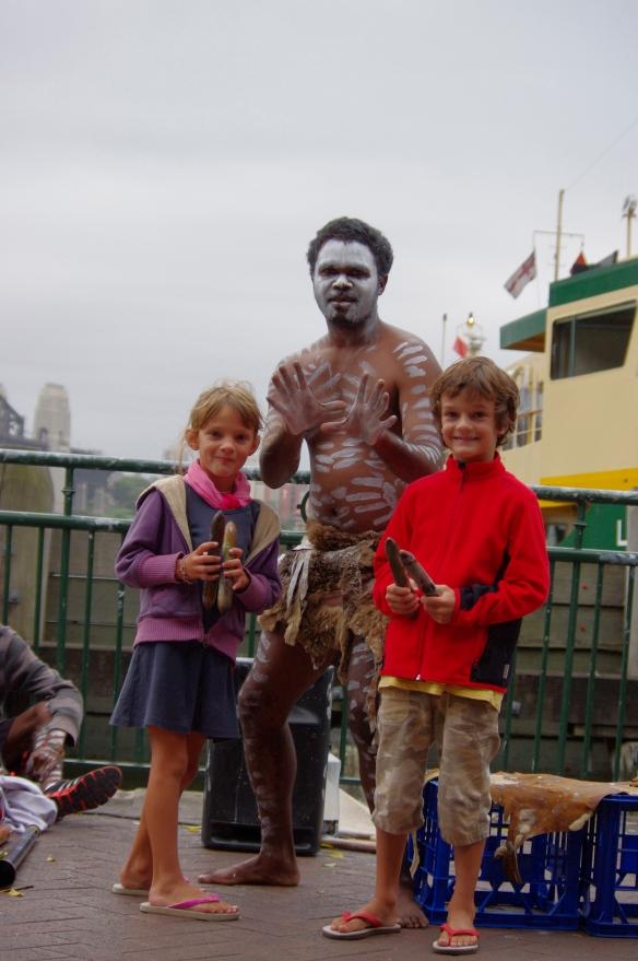 Circular Quay, aborigènes