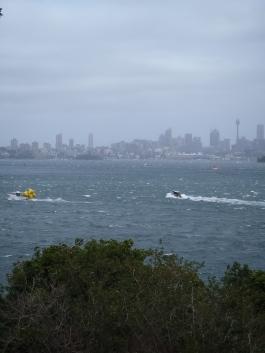 Sydney vue de Double Bay