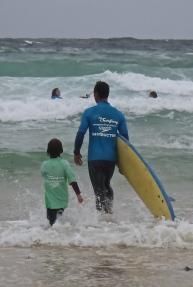 2nde leçon de surf