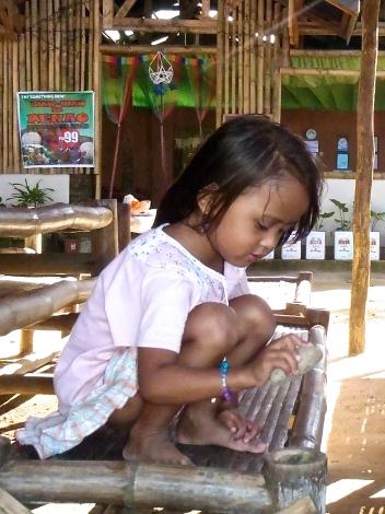 Petite fille philippine