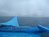 Retour à Port Barton sous la pluie