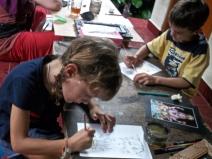 Cours de peinture balinaise