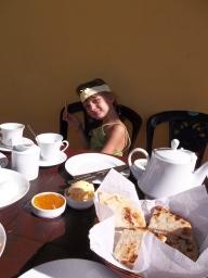 Coconut Roti au petit déjeuner