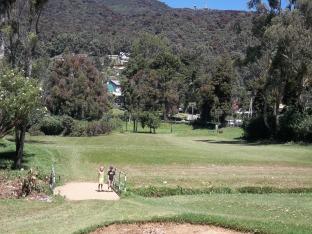 Terrain de golf à Nuwara Eliya