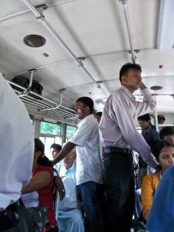 Bus pour Tangalle