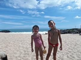 Maélia et Hannah