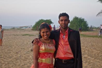 Jolis mariés de Négombo, honeymoon dans notre guest-house