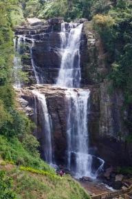 Cascades autour de Nuwara eliya