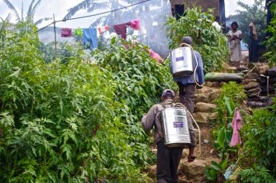 Travailleurs dans les champs