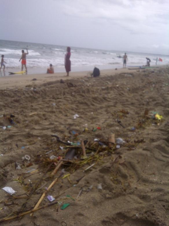 la plage de Kuta