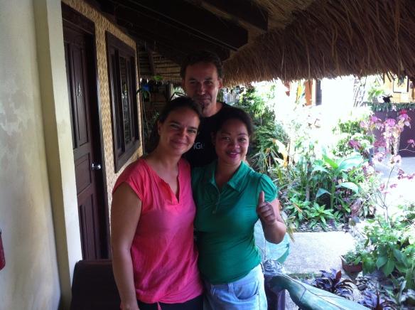 Susan, Joerg et Gwen