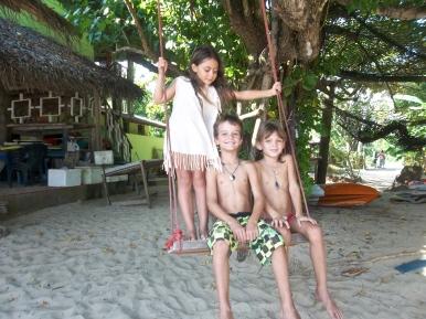 Manon, Hannah et Maceo