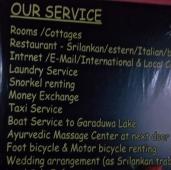 Au Sri Lanka, les guest-houses vous organisent tout!