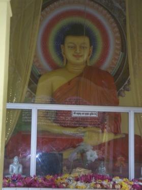 Visite du temple de Weligama