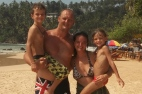 Dernière photo de famille au Sri Lanka