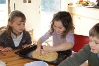 Préparation de la galette charentaise