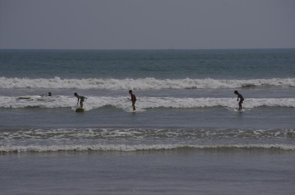 Troisième jour de surf