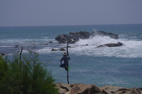 Pêcheurs sur batons