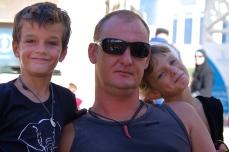Fabrice, Maceo et Hannah