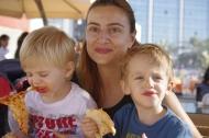 Lara, Sasha et Luca