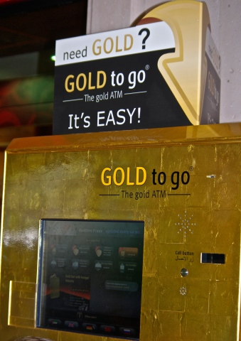 Distributeur d'or!